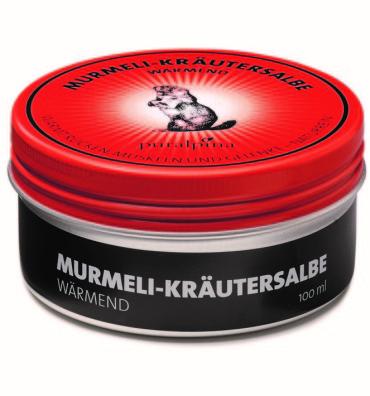 Murmeli-Kräutersalbe wärmend