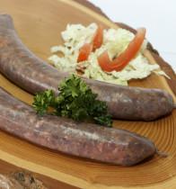 Grill-Bratwurst, 120 Gramm (Hirsch)